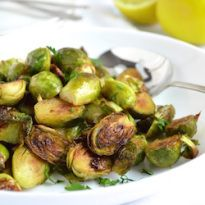 Honey Roasted Brussels Sprouts - it's a nourishing thing