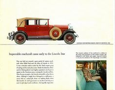 1929 Lincoln Convertible Sedan by Dietrich | Flickr - Photo Sharing!