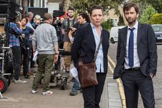 BROADCHURCH: David Tennant & Olivia Colman Are Back On Set For Third Series