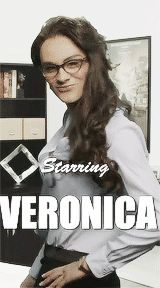 gif. MY NAME IS VERONICA AND ZAYN IS PLAYING VERONICA!! ZAYN IS ME, I AM ZAYN. WE ARE ONE