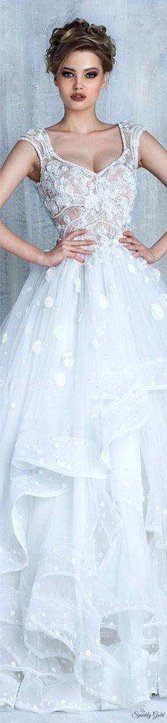 Tony Chaaya Spring 2016 Bridal