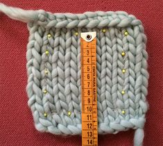 How to measure a sample of a design | We Are Knitters Blog