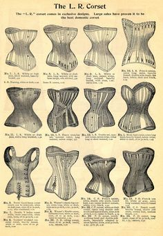 corsets ad