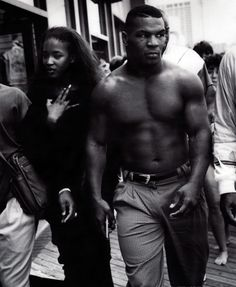 Mike Tyson-One of the baddest mofos of all time!