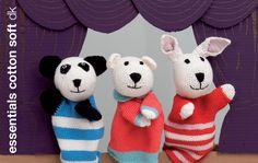 Rico Design - Rico Kits - marionnettes crochetées (peter,paul)