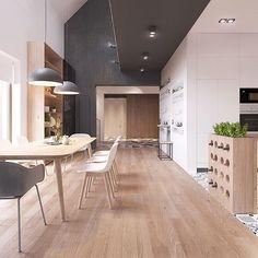 Scandinavian #Apartment by ZROBYM #Architect #designandlive