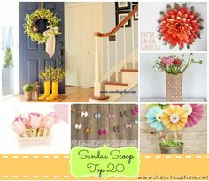 SO many great ideas for Spring
