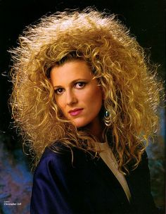 Nominee for Big Hair Hall of Fame, 80's Perm Division.