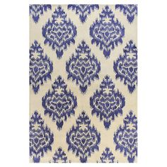 Ashland Blue & White Area Rug