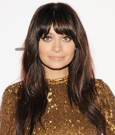 Blunt bangs and sleek waves; my current look & I love it!