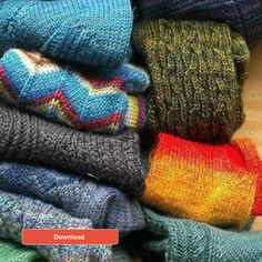 Basic Sock Pattern - Loveknitting blog