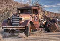 Old Truck - Chloride, AZ  It's still there!