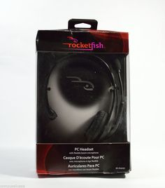 #onsalenow - #ebay Rocketfish RF-PH4101 Over-The-Head Analog PC #Headset - Ships 4 Free! #Rocketfish