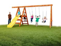 DIY swing set for home designing and decorating can be made into simple custom styles by applying about best ideas and plans about hardware kits as well as accessories