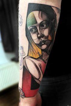 Always enjoy original art as tattoo