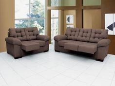 Sofá 3 Lugares Retrátil Versati - Linoforte com as melhores condições você encontra no Magazine Simply. Confira!