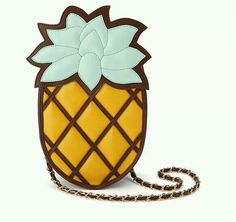 the bag  called  pineapple  bag.it  looks like pineapple.so creative .and  funny