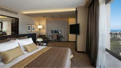 Dan Carmel | Decor Team - Hospitality Design http://www.decorteamus.com/ #hotel #curtains #drapes #shades