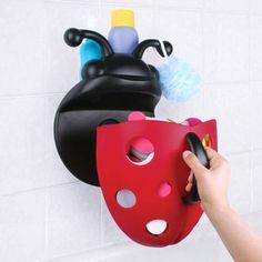 Range jouets de bain coccinelle