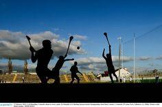 Taking the shot. Grass, Ireland, Football, Sports, Soccer, Futbol, Grasses, Irish, American Football