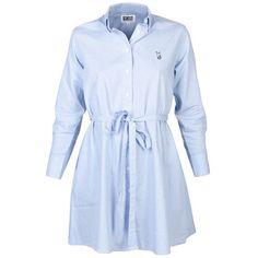 OriginalEskimo: Oxford Shirt Oversized Wmns Blue