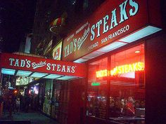 tad s steakhouse | trippingwithmarty - (Almost) Live, From New York City! - Colony Music ...