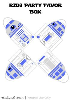 Free Printable Party Favor Box For A Star Wars Party - Printable Star Wars - Ideas of Printable Star Wars - Star Wars Favor Box Printable Star Wars Party Favors, Aniversario Star Wars, Star Wars Cake Toppers, Printable Star, Star Wars Prints, Star Wars Wedding, Star Wars Models, Star Wars Baby, Favor Boxes