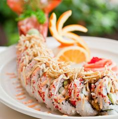Maine lobster roll @PRIME, Delray Beach. This sushi roll is an entire meal in itself!