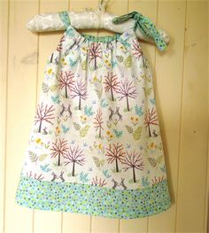 Bunny Dress with Shoulder Tie. One only, size 1. Grey Rabbits. Salisbury Spring fabric - Lewis and Irene. Dress by Sweet Poppy Kids. Easter.