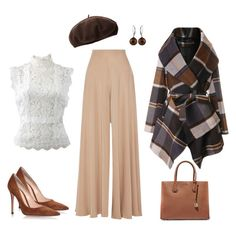High waist and peplum - perfect for the x body shape Body Types, The Row, Michael Kors, Shoe Bag, Polyvore, Stuff To Buy, Shopping, Collection, Design