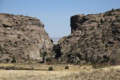Devil's Gate on the Oregon Trail in Wyoming. Follow the Pin to my Website!