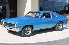 1970 Chevrolet Nova, 327 2x4bbl V8 & 4 speed trans