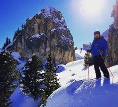 The sun  of winter.  #ski #snow #Italy #leki