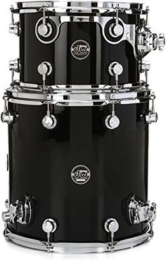 DW Performance Series 2piece Bop Tom Pack  Gloss Black Finish Ply *** Want to know more, click on the image.(It is Amazon affiliate link) #love