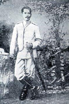 Spanish American War - Filipino Rebel General Garcia (rebel against Spanish colonial rule)