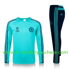 Top Quality:New Fashion Kids Chelsea Champions League 2016 2017 Green  Tracksuit Personalised Customised ab60f21a9cf2c