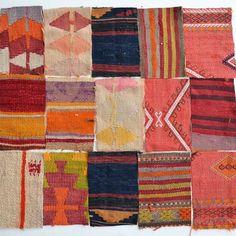 Kilim fragments #textile