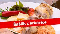Šašlik z krkovice | Babicova televize | Babica | Stream Vodka, Meat, Chicken, Food, Lemon, Red Peppers, Essen, Meals, Yemek