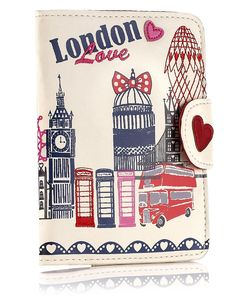 Can't really wear, but I want this! London passport cover
