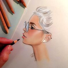 """""""sketch✏️ #pastelspencils А ещё я очень люблю пастельные карандаши..очень удобно рисовать портреты и делать более мягкие и чёткие линии лица✏️ нравятся…"""""""