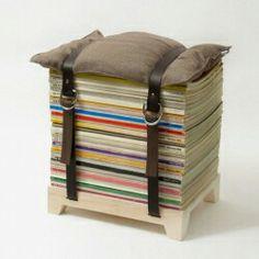 Recyclage de magazines