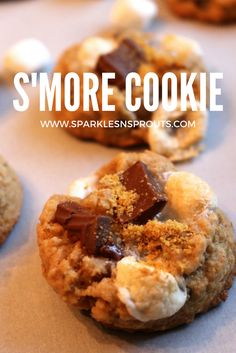 S'More cookies are t