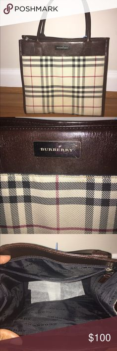 Small Burberry purse! Small Burberry purse. Originally bought off tradesy and never used. Recently bought another. In great condition and confirmed authentic through the tradesy team. Tagged by tradesy. Burberry Bags Mini Bags
