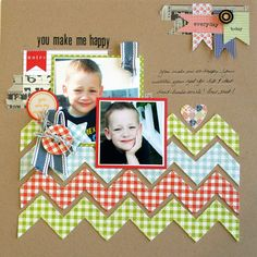 Layout by Julia Stainton for Lily Bee Design
