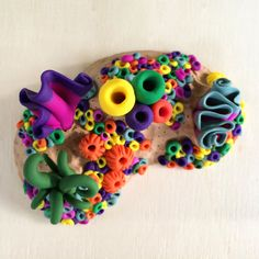 how to make coral out of clay