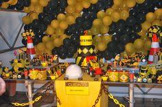 ... Coisas da Vivi ...: Festa Infantil - Tema Construção                                                                                                                                                                                 Mais