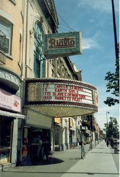 Theatre Rialto, Montreal Qc