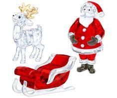 Santa Scene Set - Decorations - Swarovski Online Shop