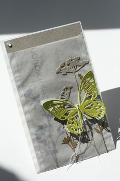 SIZZIX Wildflower Card in a Bag2