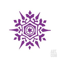 Snowflake by Pop Ink - CSA Images. Print from Art.com, $19.99